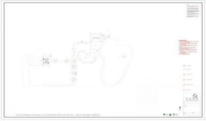 2D Lighting Plan Garden Design and Landscaping Runwell Essex