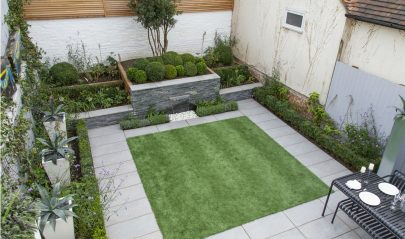 Cube Landscaping Services Artificial Lawn Contemporary Quayside Garden Maldon Essex