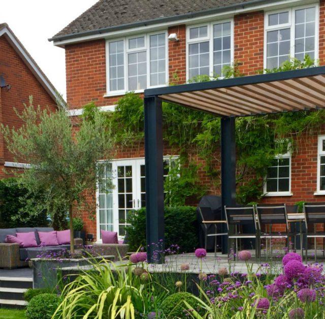 Featured Image Contemporary Terrace Garden Danbury Essex