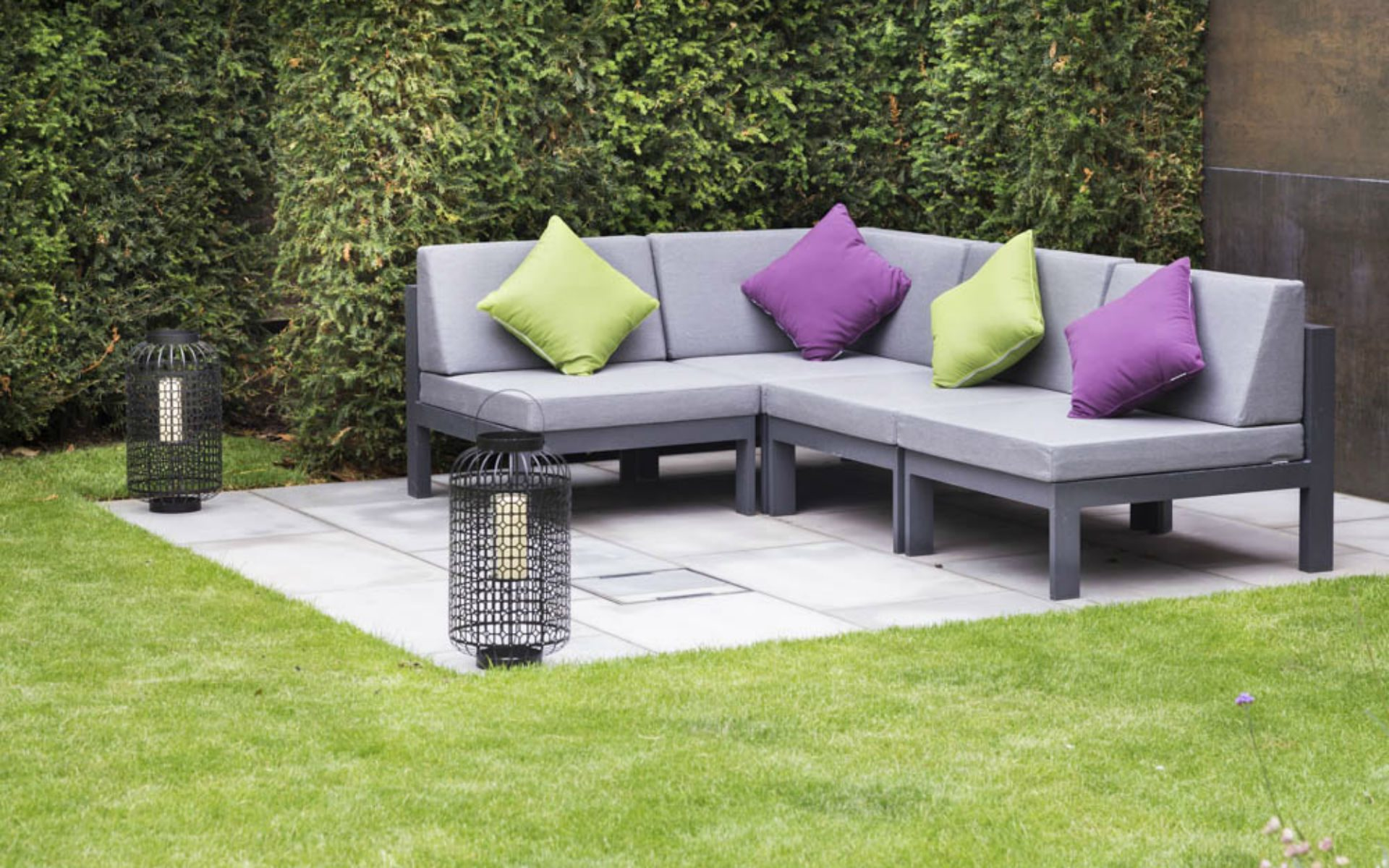Portfolio BALI Award Winning Small Urban Garden Beaulieu Chelmsford Essex Lounge Area