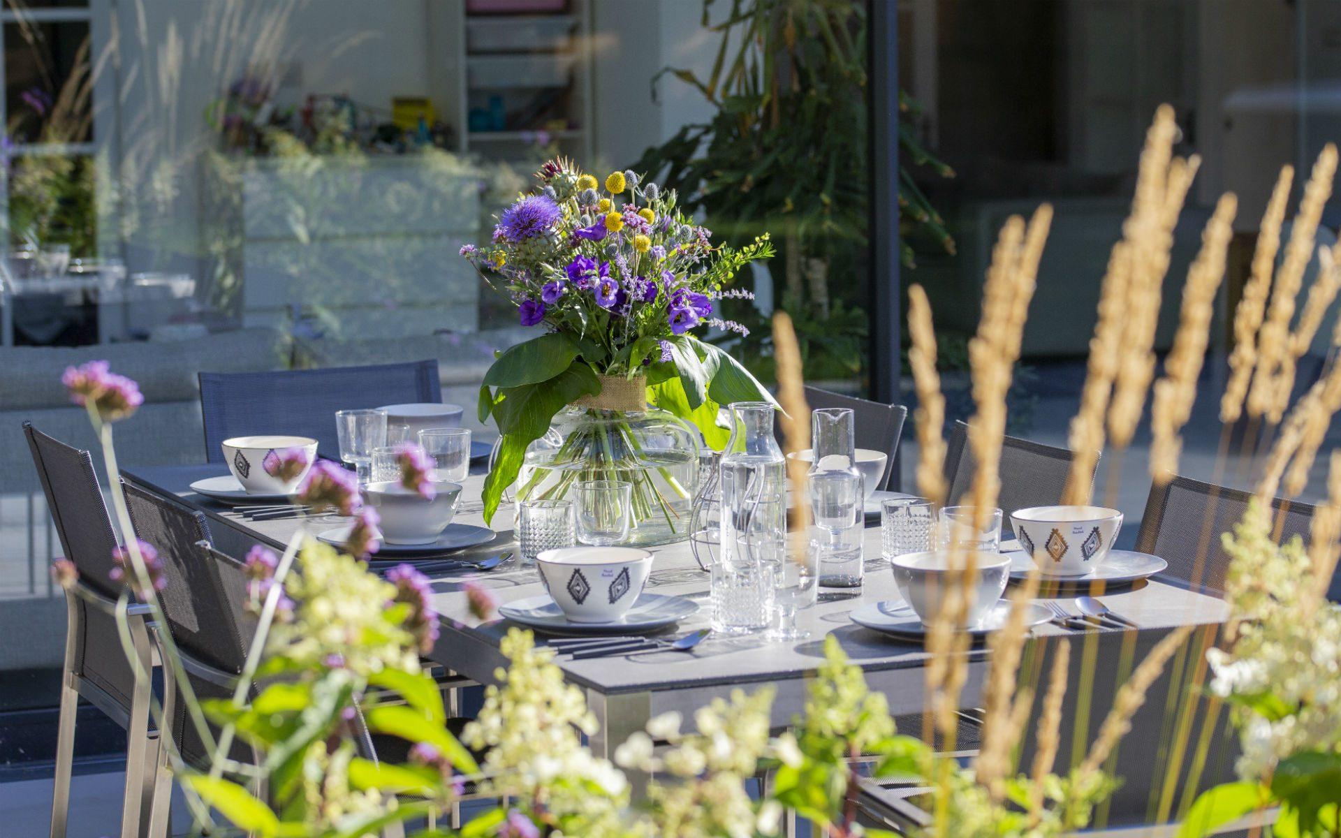 Portfolio Contemporary Family Garden Springfield Chelmsford Essex Dining Area