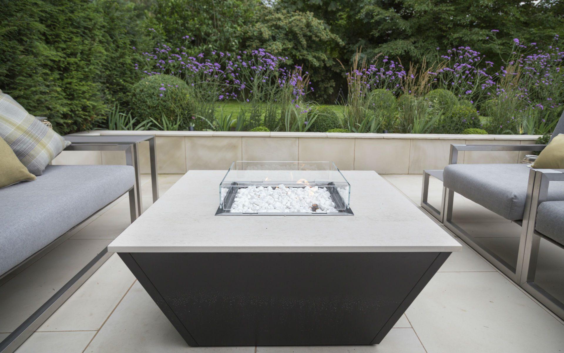 Portfolio Multi-level Contemporary Garden Stock Essex Rivelin Firetable