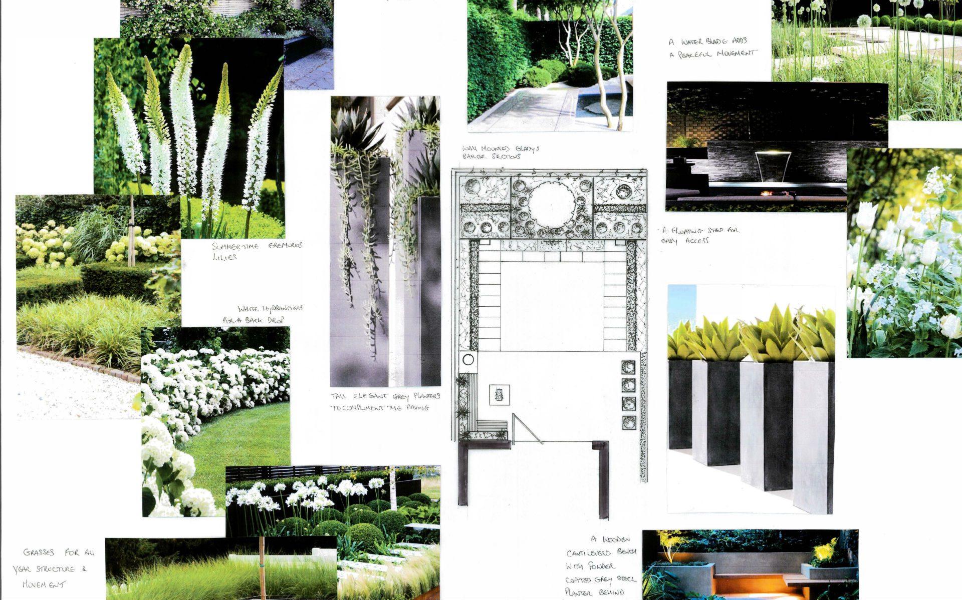 Portfolio Small Quayside Garden Maldon Essex 2D Design