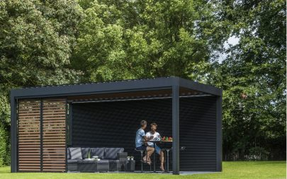 Renson Camargue Louvered Canopy Cube 1994 Landscaping