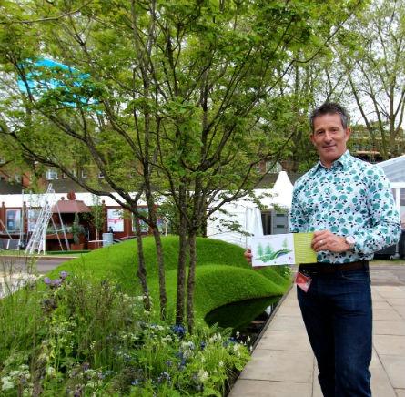 RHS Chelsea Flower Show 2013 The 9 Billion Conversation Garden