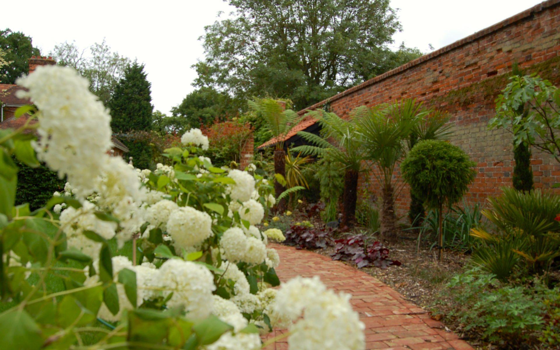 Traditional Country Garden Fryerning Essex Mediterranean Garden