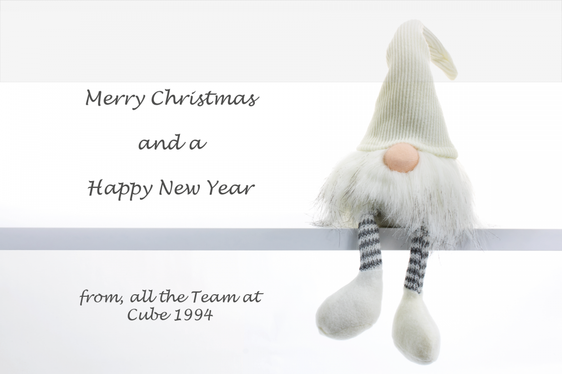 Merry Christmas from Cube 1994 2019 website